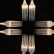 Towle, Debussy Sterling Silverware, Place-setting For Eight 8