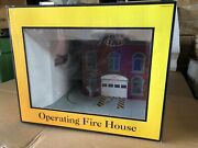 Mth Operating Fire House W/soundsmth Railking 30-9102 Operating Fire House W/sou