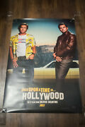 Once Upon Time In Hollywood B 27 X 40 Rolled Movie Poster Original 2019