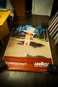 Lavazza B By Lachapelle 2002 4x6 Ft Shelter Original Vintage Advertising Poster