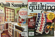 Better Homes And Gardens Quilt Sampler 10 Top Shop + American Patchwork And Quilting