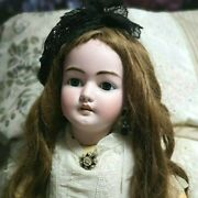 Antique Simon And Halbig 1079,dep, 30 Bisque Child Doll, Stunning Perfection.