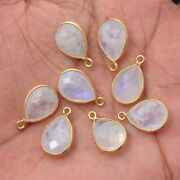 Gold Platted Silver Bazel Moonstone Connector Gemstone Suppliers Finding,pendant