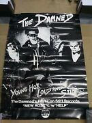 The Damned Young Hot Loud And Stiff Promo Poster Rare