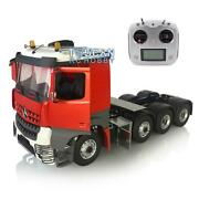 Rc 1/14 Lesu Metal Chassis Sound Hercules Painted 3363 Cabin Tractor Truck Radio