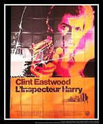 Dirty Harry Clint Eastwood 8x10 Ft Giant Billboard Original Movie Poster 1971