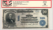 1902 20 Plain Back The First Nb Of Valley Junction Ia Pcgs Apparent Vf20 5891