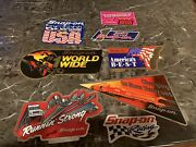 New Vintage Snap-on Tools Lot Of 8 Tool Box Stickers Decals Man Cave Bumper