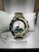 New Tissot Sea Touch Watch Excellent Condition T Race Ttouch