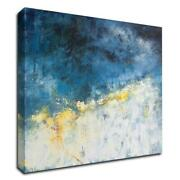 30 X 30 Yellow Bloom By Patrick Dennis Print On Canvas