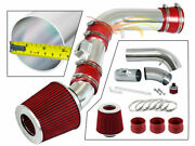 Rouge Air Froid Kit Induction Pour 2007-2012 Colorado/canyon/h3/h3t 3.7l I5