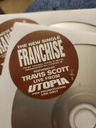 Travis Scott Franchise Cd Promolive From Utopia Sold Out