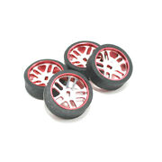 4pcs Rc Car Tires And Wheels For Wltoys K969 K989 K999 P929 Iw04m Awd Iw02 Rm A2r3