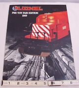 Lionel Toy Trains 1989 Catalog Pre Toy Fair In Color Post War Book Nice