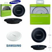 Genuine Samsung Wireless Charger Charging Pad Dock For Galaxy S6 S7 Edge S8 S9