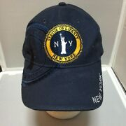 New York Statue Of Liberty Embroidered Adjustable Blue Baseball Cap Hat G466