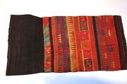 Laos Around 1960 A Pair Of Fine Embroidered Calf Pads