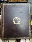 Rarest Autograph Leaves Of Our Country Authors A. Bliss 1864 1st Edition