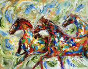 Wild Horses - Hand Cut Wooden Jigsaw Puzzle By Bcb Puzzles
