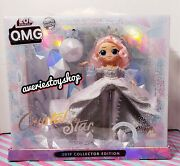 Lol Surprise Omg Crystal Star 2019 Collector Edition Doll Winter Disco Rare