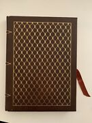 John Steinbeck Of Mice And Men Collector's Edition Leather-bound Book 1977