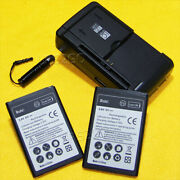 For Lg Optimus Zone 2 Vs415pp Replacement Li-ion 3.8v Battery Travel Usb Charger