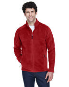 Core 365 Menand039s 100 Polyester Long Sleeves Journey Fleece Jacket 88190 S-5xl