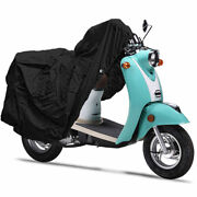 New Scooter Bike Motorcycle Cover Fits Up To 80 Length Moped Dust Travel Covers