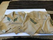 Lot Of 8 Us Military Shirts Army Usaf Usmc Various Sizes And Styles. See Desc
