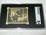 1948 Swell Bubble Gum 11 Babe Ruth Story Sgc 5 Ex Miller Huggins