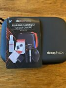 Deco Photo All-in-one Cleaning Kit For Lenses And Dslr Cameras W/ Carry Case