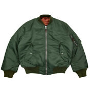 Ma1 Bomber Jacket Winter Warm Menand039s Wool Cotton-padded Coat Military Flight Suit