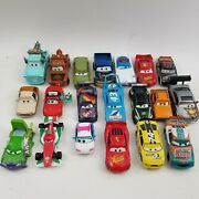 Disney Pixar Cars Huge Lot Of 20 Cars Most Diecast Great Collection