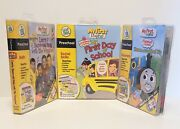 My First Leappad Cartridges Lot Of 3 Cib The Wiggles Thomas And Friends Pre K