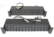 2 White 4400 28 Band 1/3 Octave Room Equalizers Recapped 2010 Tested Work Well