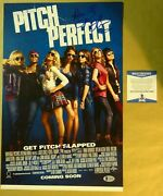 Signed Kay Cannon And Anna Kendrick - Pitch Perfect 11x17 Photo Beckett Bas Coa