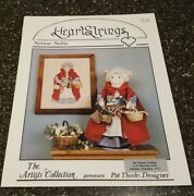 Notion Nellie Heartstrings Counted Cross Stitch And Doll Pattern Ac-36