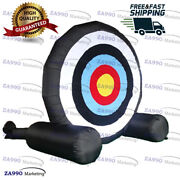 13ft Inflatable Foot Dart Board Golf Soccer Kick Game With Air Blower