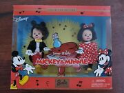 Disney Collector Edition Barbie Tommy And Kelly Mickey And Minnie Mouse