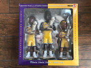 Forever Collectibles 2002 Nba La Lakers Bobbleheads Kobe Shaquille Fisher 3 Pack