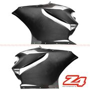 Ducati 899 1199 Panigale Carbon Fiber Side Engine Radiator Cover Fairing Cowling
