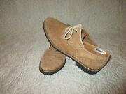 Mike Konos Made In Italy Tan Suede Wingtip Oxford Shoes Sz 10.5