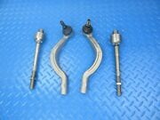 Maserati Ghibli Quattroporte Inner And Outer Tie Rod End Left Right 9001