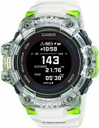 Casio G-shock G-squad Gbd-h1000-7a9jr Skeleton Heart Rate Monitor Gps Watch
