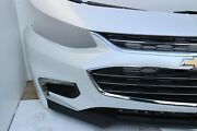2016-2017-2018 Chevy Malibu Front Bumper Assembly With Led Oem Summit White K126