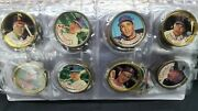 Set Of 77 Vintage T.c.g And Tops Major League Baseball Coins