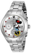 Wrist Watch Menand039s 25107 Disney Automatic 3 Hand Black Dial Watch Mickey Mouse