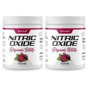 Organic Nitric Oxide Beet Root Powder Super Beets Muscle And Heart Health 2 Pack
