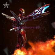 Cm Studio Iron Man Weapon Mk50 1/2 Scale Gk Collector Resin Painted Led Statue