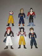 Vintage Dragonball Z Bootleg Figures Some Are Broken Made From Hard Plastic
